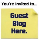 You are invited to write for my blog