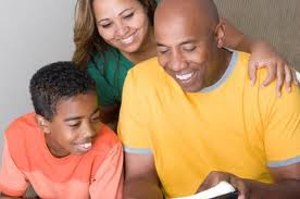 Homeschooling brings the family together, including dad