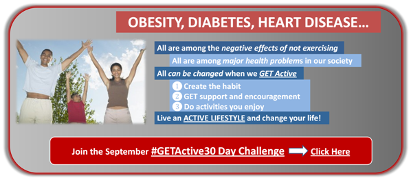 Join the #GETActive30 Day Challenge - JackieBledsoe.com
