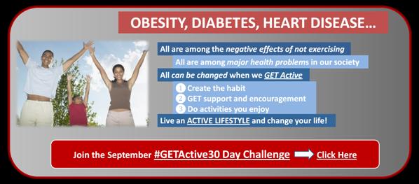 Join the #GETActive30 Day Challenge - JackieBledsoe.com