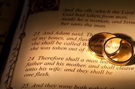 definition of marriage according to the bible