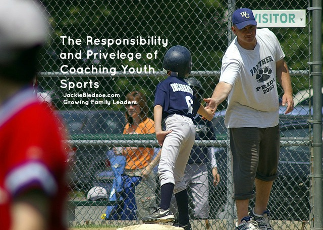 My Story: Coaching Youth Sports - JackieBledsoe.com - Growing Family Leaders