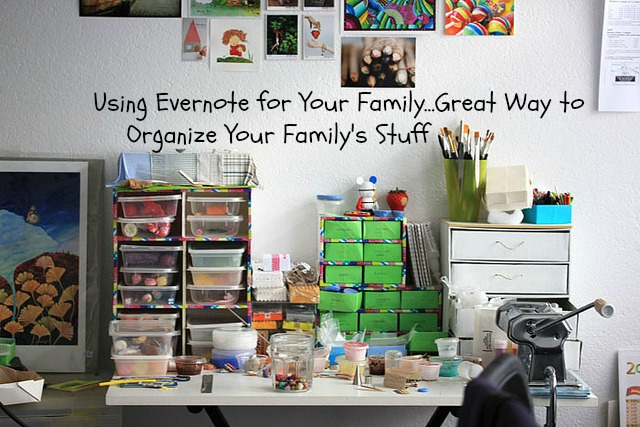 Using Evernote for Your Family is A Great Way to Organize Your Family's Stuff - JackieBledsoe.com - Growing Family Leaders