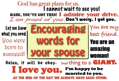 Encouraging Words Your Wife Loves to Hear - JackieBledsoe.com - Growing Family Leaders