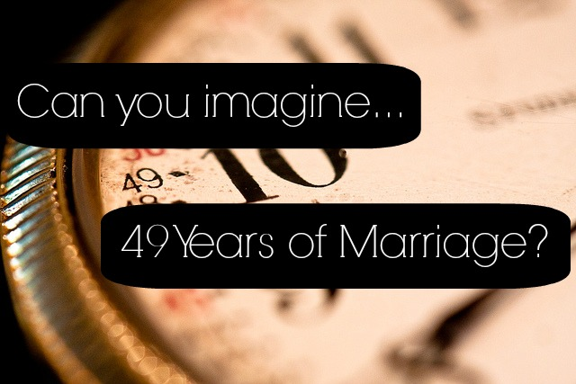 Can You Imagine 49 Years of Marriage? - JackieBledsoe.com - Growing Family Leaders