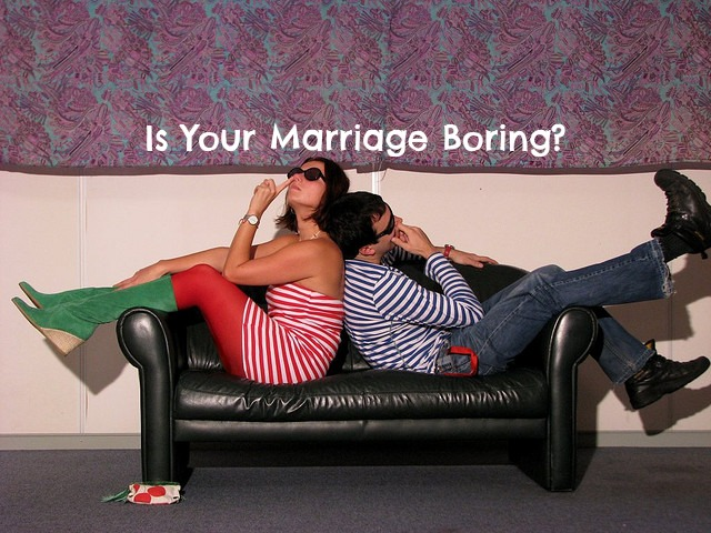 Is Your Marriage Boring?