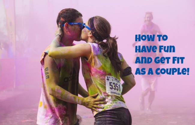 How to Have Fun and Get Fit as a Couple! - JackieBledsoe.com - Color Me Rad 5k Indy Giveaway