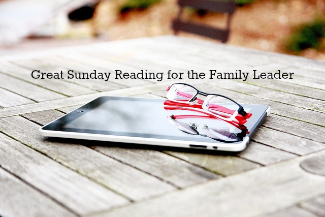 Great Sunday Reading for the Family Leader