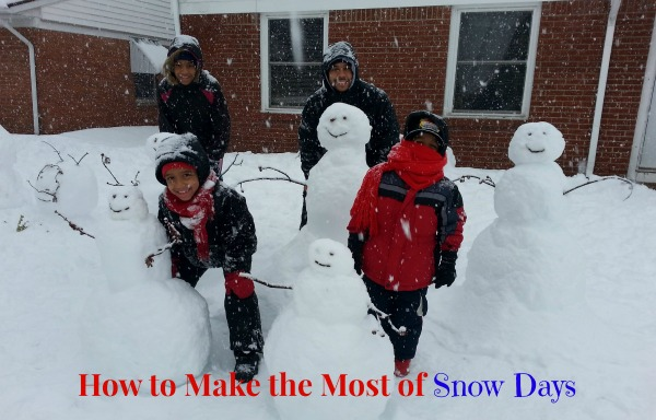 How to Make the Most of Snow Days - JackieBledsoe.com - Growing Family Leaders
