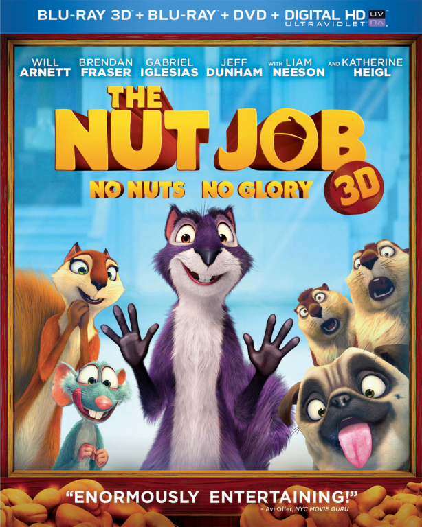 The Nut Job DVD/Blu-Ray combo prize pack from JackieBledsoe.com