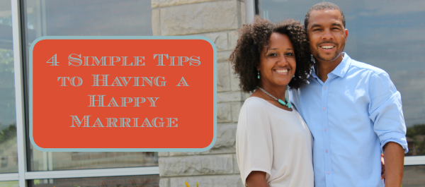 4 Simple Tips to Having a Happy Marriage - JackieBledsoe.com