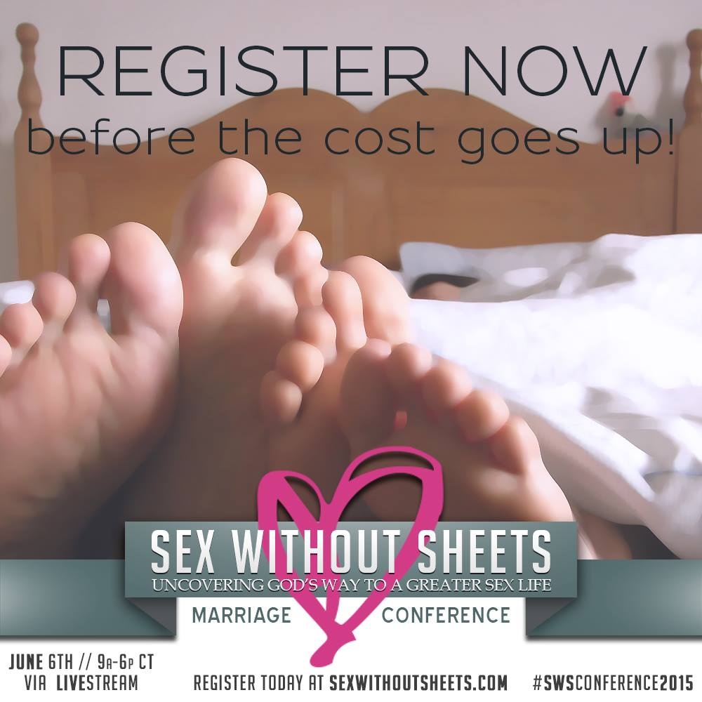 Sex Without Sheets Conference - have GREATER Mind Blowing Sex that Reconnects You and Your Spouse Intimately and Leaves You Both Wanting More?