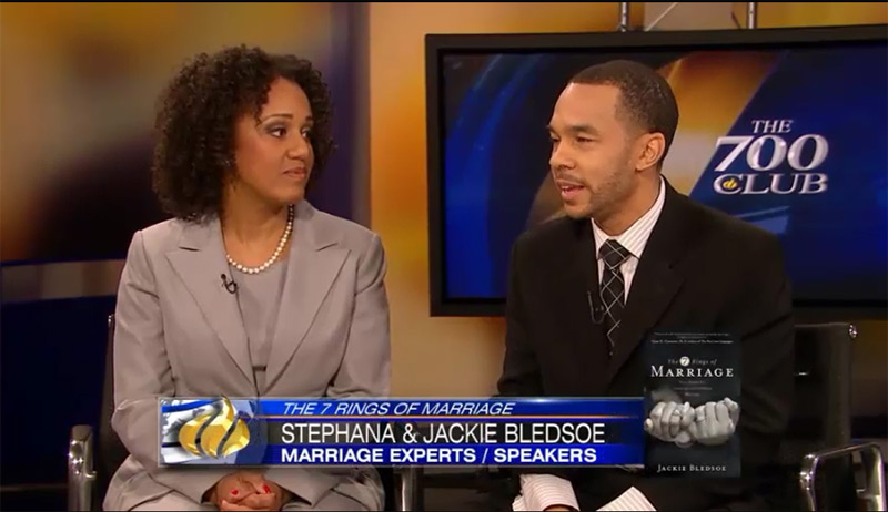 Jackie and Stephana Bledsoe's Interview on The 700 Club