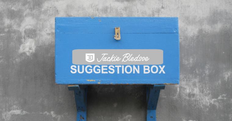 JackieBledsoe.com - 2016 Reader Survey