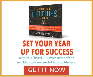 Achieve What Matters Most in 2017 eBook