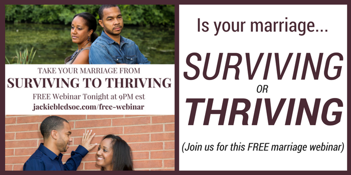Is your marriage surviving or thriving?