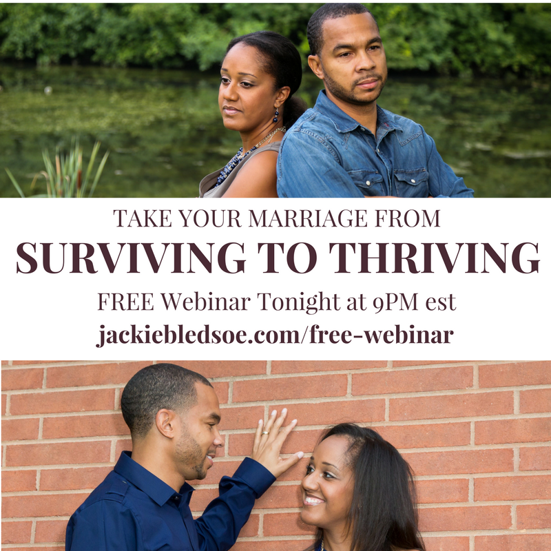 FREE Webinar - 3 Things to Take Your Marriage from Surviving to Thriving