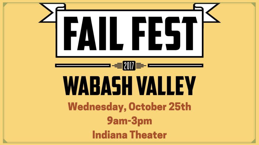 Fail Fest Wabash Valley 2017 - Keynote Speaker Jackie Bledsoe